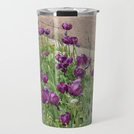 Purple tulips Travel Mug