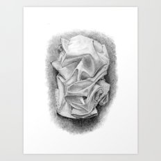 drape Art Print