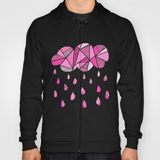 Fractured Pink Cloud Hoody