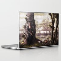 rogue Laptop & iPad Skins featuring The Rogue by Rowye