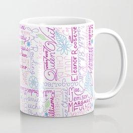 Strong Women (Pink) Coffee Mug
