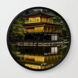 Golden Temple Kinkaku ji Wall Clock
