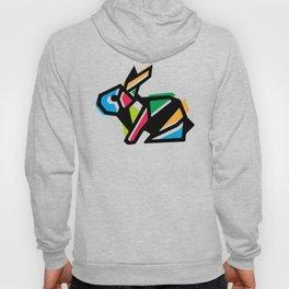 Rainbow Anigami Bunny Hoody