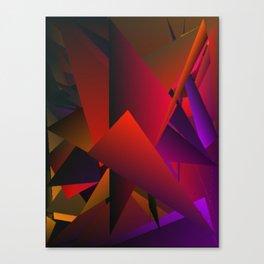 Smoke Screen Abstract 5 Canvas Print
