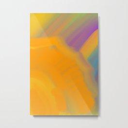 UV Rays Metal Print