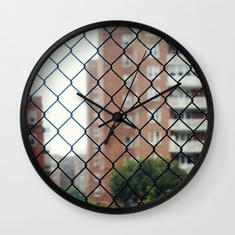 Seeing Through New York City Wall Clock