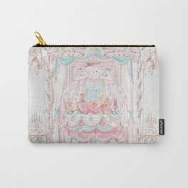 Marie Antoinette and the cake crumb Carry-All Pouch