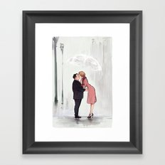 Jacob&Queenie Framed Art Print