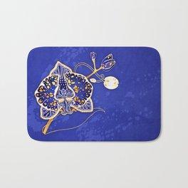 Egyptian Blue :: Orchid Bath Mat