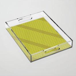 Green drops Acrylic Tray