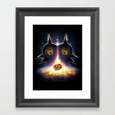 Majora's Mask Operation Moonfall Framed Art Print