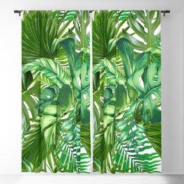 green tropic Blackout Curtain