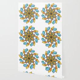 Morning Bird Mandala Wallpaper