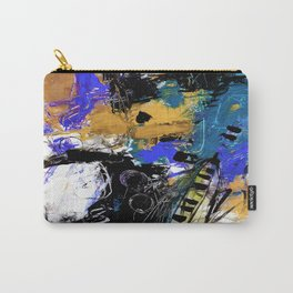 Jazzy Emotions No.1H by Kathy Morton Stanion Carry-All Pouch