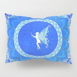 Fairy Garden white Pillow Sham
