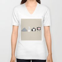rocky horror V-neck T-shirts featuring Rocky Horror Picture Show Picture Show by karebear0025