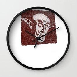 Count Orlok Wall Clock