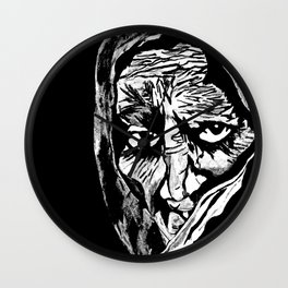 Oh Grandmother What Big Eyes You Have....The Better To See You With My Dear Wall Clock