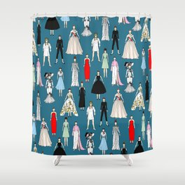 Dolls Shower Curtain