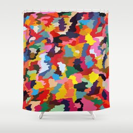 Color Camouflage #1 Shower Curtain