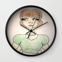 Rotten to the Core Wall Clock