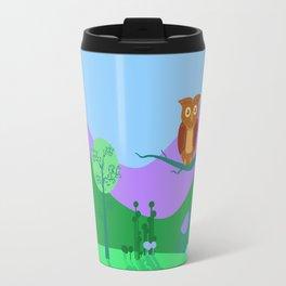 Old Owl Travel Mug