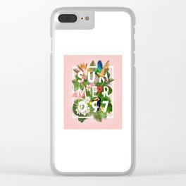 SUMMER of 97 Clear iPhone Case
