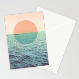 Because the ocean Stationery Cards
