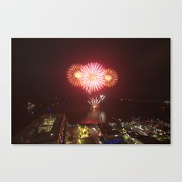 Canada Day. Canvas Print