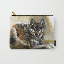 Carpathian wolf realistic (c) 2017 Carry-All Pouch