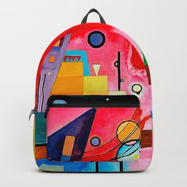 Kandinsky - Heavy Red Backpack