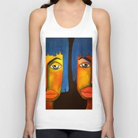 twins Tank Tops featuring Twins by Shahadjef