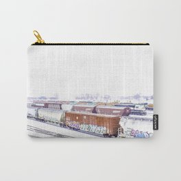 Cold Trains Carry-All Pouch