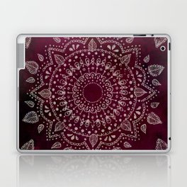 Wine Mandala Laptop & iPad Skin