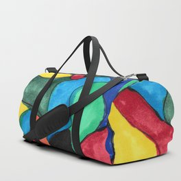 Stained Glass Eye Duffle Bag