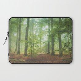 Hazy Summer Forest Laptop Sleeve