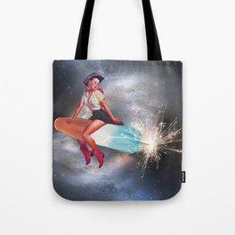 Rocket Pop Tote Bag