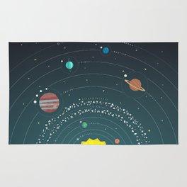 Solar System Rug