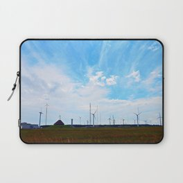 North Cape Wind Farm Laptop Sleeve