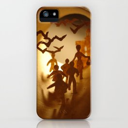 """""""The Birds"""" Alfred Hitchcock (""""Les oiseaux"""" Alfred Hitchcock) iPhone Case"""