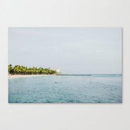 Waikiki Beach II Canvas Print