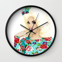 Katya Zamo, Jet Set Eleganza, RuPaul's Drag Race Queen Wall Clock