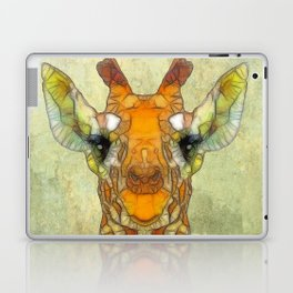 abstract giraffe calf Laptop & iPad Skin