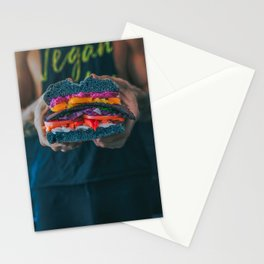 Black LT Sandwich Stationery Cards