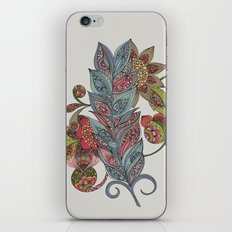 One little feather iPhone & iPod Skin