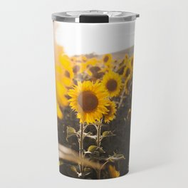 Sunflower's Season (III) Travel Mug