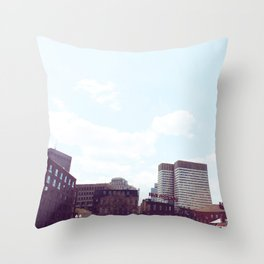 Union Oyster House Throw Pillow