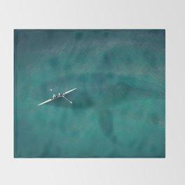 Great Danger Underneath Throw Blanket