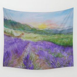 An Evening in Provence WC150601-12 Wall Tapestry