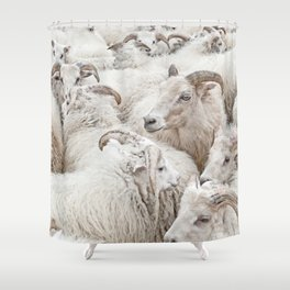 Stick Together Shower Curtain